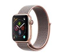 Montre connectée Apple Watch 40MM Alu Or / Boucle Rose Series 4