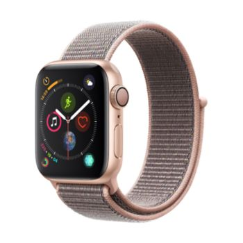 Apple Watch 40MM Alu Or / Boucle Rose Series 4