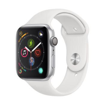 Apple Watch 44MM Alu Argent / Blanc Series 4