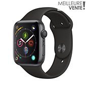 Montre connectée Apple Watch 44MM Alu Gris / Noir Series 4