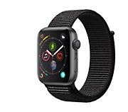 Apple Watch 44MM Alu Gris / Boucle Noir Series 4