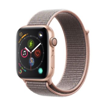 Apple Watch 44MM Alu Or / Boucle Rose Series 4