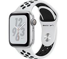 Montre connectée Apple Watch Nike+ 40MM Alu Arg/Noir Plat Series 4