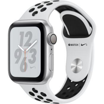 Apple Watch Nike+ 40MM Alu Arg/Noir Plat Series 4