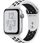 Montre connectée Apple Watch Nike+ 44MM Alu Arg/Noir Plat Series 4