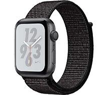 Montre connectée Apple Watch Nike+ 44MM Alu Gris/Boucle Noir Series 4