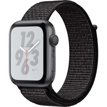 Apple Watch Nike+ 44MM Alu Gris/Boucle Noir Series 4