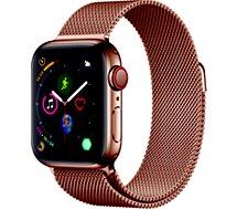 Montre connectée Apple Watch 40MM Acier Or/Boucle Or Mi Series 4 Cell
