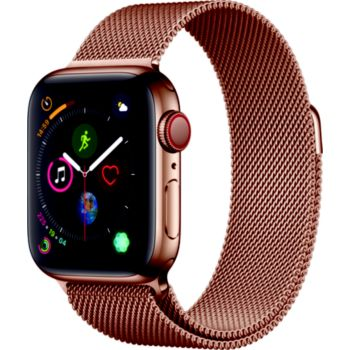 Apple Watch 40MM Acier Or/Boucle Or Mi Series 4 Cell