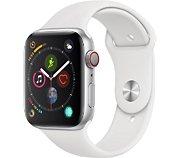 Apple Watch 44MM Alu Argent/Blanc Series 4 Cellular