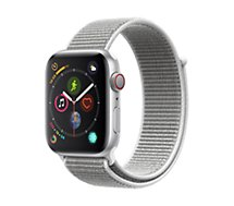 Montre connectée Apple Watch 44MM Alu/Boucle Coquillage Series 4 Cell