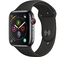 Montre connectée Apple Watch 44MM Alu Gris / Noir Series 4 Cellular