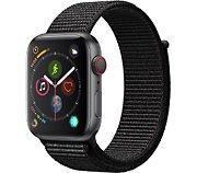 Apple Watch 44MM Alu Gris/Boucle Noire Series 4 Cell