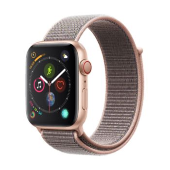 Apple Watch 44MM Alu Or / Boucle Rose Series 4 Cell
