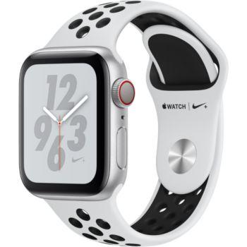 Apple Watch Nike+40MM Alu Arg/Noir Plat Series 4 Cel