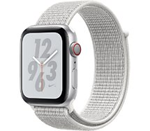 Montre connectée Apple Watch Nike+44MM Alu Arg/Bouc Blanc Serie 4 Cel
