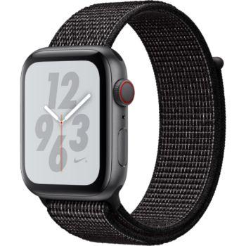 Apple Watch Nike+44MM Alu Gris/Bouc Noir Serie 4 Cel