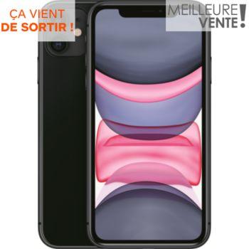 Apple iPhone 11 Noir 64 Go
