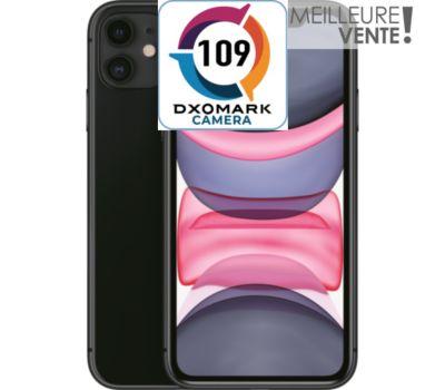 Smartphone Apple iPhone 11 Noir 64 Go