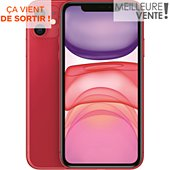 Smartphone Apple iPhone 11 Product Red 64 Go