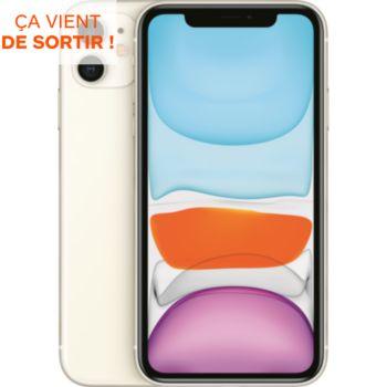 Apple iPhone 11 Blanc 128 Go