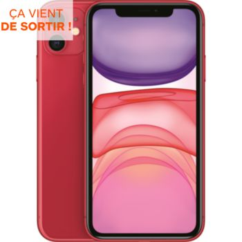 Apple iPhone 11 Product Red 128 Go