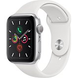 Montre connectée Apple Watch  44MM Alu Argent / Blanc Series 5