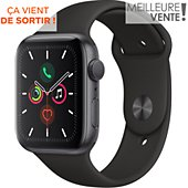 Montre connectée Apple Watch 44MM Alu Gris / Noir Series 5