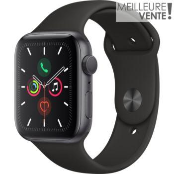 Apple Watch 44MM Alu Gris / Noir Series 5