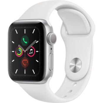 Apple Watch 40MM Alu Argent / Blanc Series 5