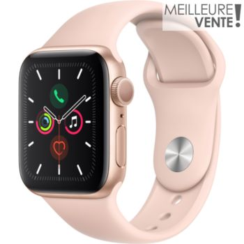 Apple Watch 40MM Alu Or / Rose Series 5