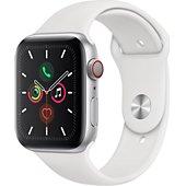 Montre connectée Apple Watch 44MM Alu Argent/Blanc Series 5 Cellular