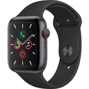 Apple Watch 44MM Alu Gris/Noir Series 5 Cellular