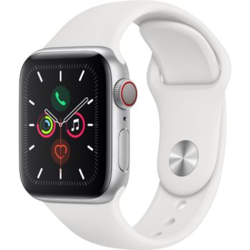 Apple Watch 40MM Alu Argent/Blanc Series 5 Cellular