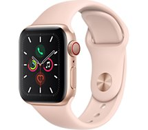 Montre connectée Apple Watch  40MM Alu Or/Rose Series 5 Cellular