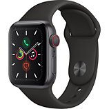 Montre connectée Apple Watch  40MM Alu Gris/Noir Series 5 Cellular