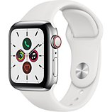 Montre connectée Apple Watch  40MM Acier/Blanc Series 5 Cellular