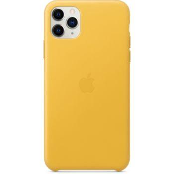 Apple iPhone 11 Pro Max Cuir Jaune