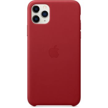 Apple iPhone 11 Pro Max Cuir Rouge