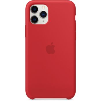 Apple iPhone 11 Pro Silicone Rouge