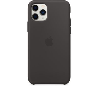 Coque Apple iPhone 11 Pro Silicone Noir