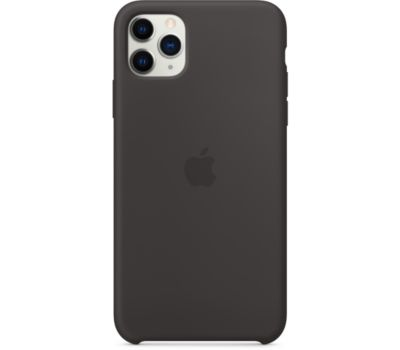 Coque Apple iPhone 11 Pro Max Silicone Noir