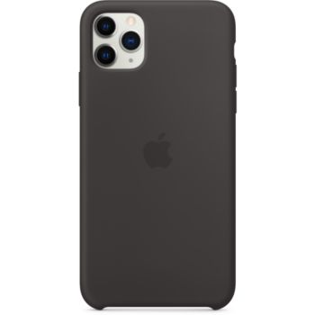 Apple iPhone 11 Pro Max Silicone Noir