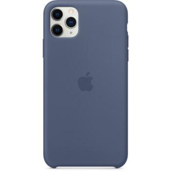 Apple iPhone 11 Pro Max Silicone Bleu Alaska