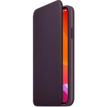 Apple iPhone 11 Pro Max Cuir Aubergine