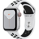 Montre connectée Apple Watch  Nike 40 MM Alu Platine/Noir Series 5 Cel