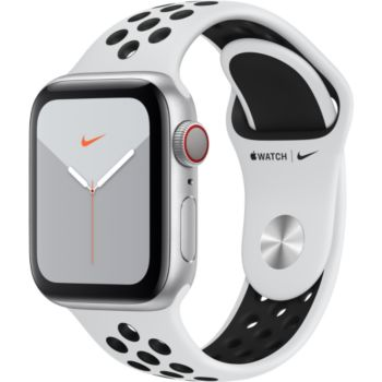Apple Watch Nike 40 MM Alu Platine/Noir Series 5 Cel