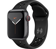 Montre connectée Apple Watch  Nike 40 MM Alu Anthra/Noir Series 5 Cell