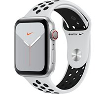 Montre connectée Apple Watch  Nike 44 MM Alu Platine/Noir Series 5 Cel