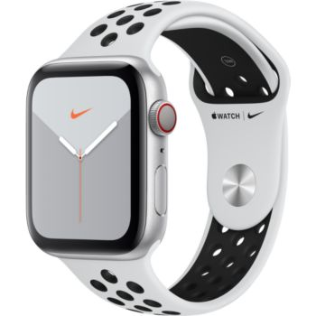 Apple Watch Nike 44 MM Alu Platine/Noir Series 5 Cel